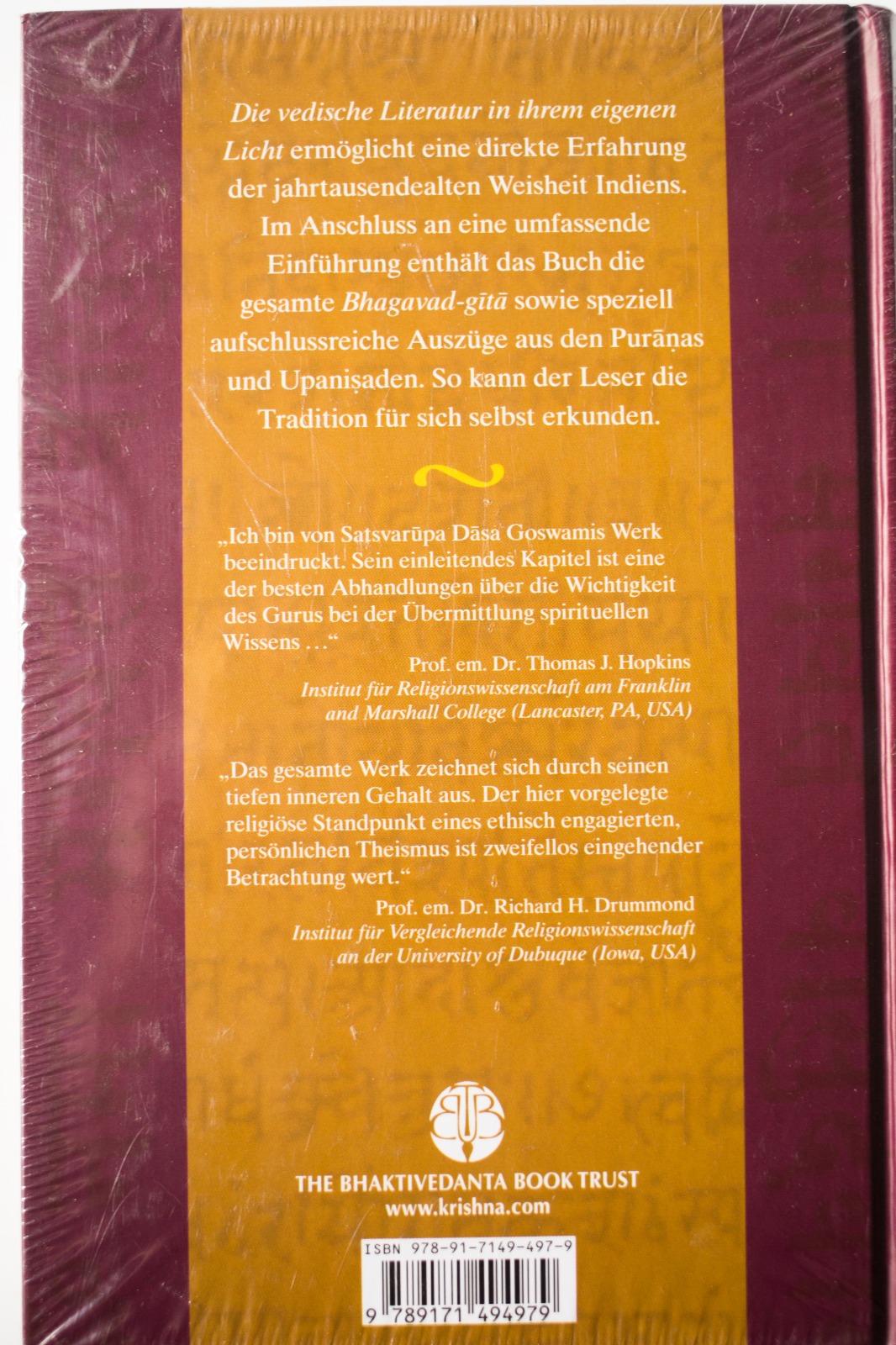 Die Vedische Literatur in ihrem eigenen Licht