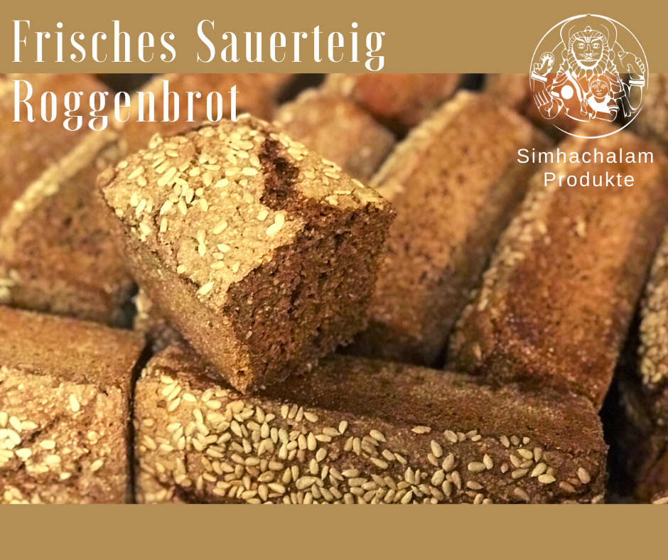 Roggenshrot -  Sauerteig - Brot