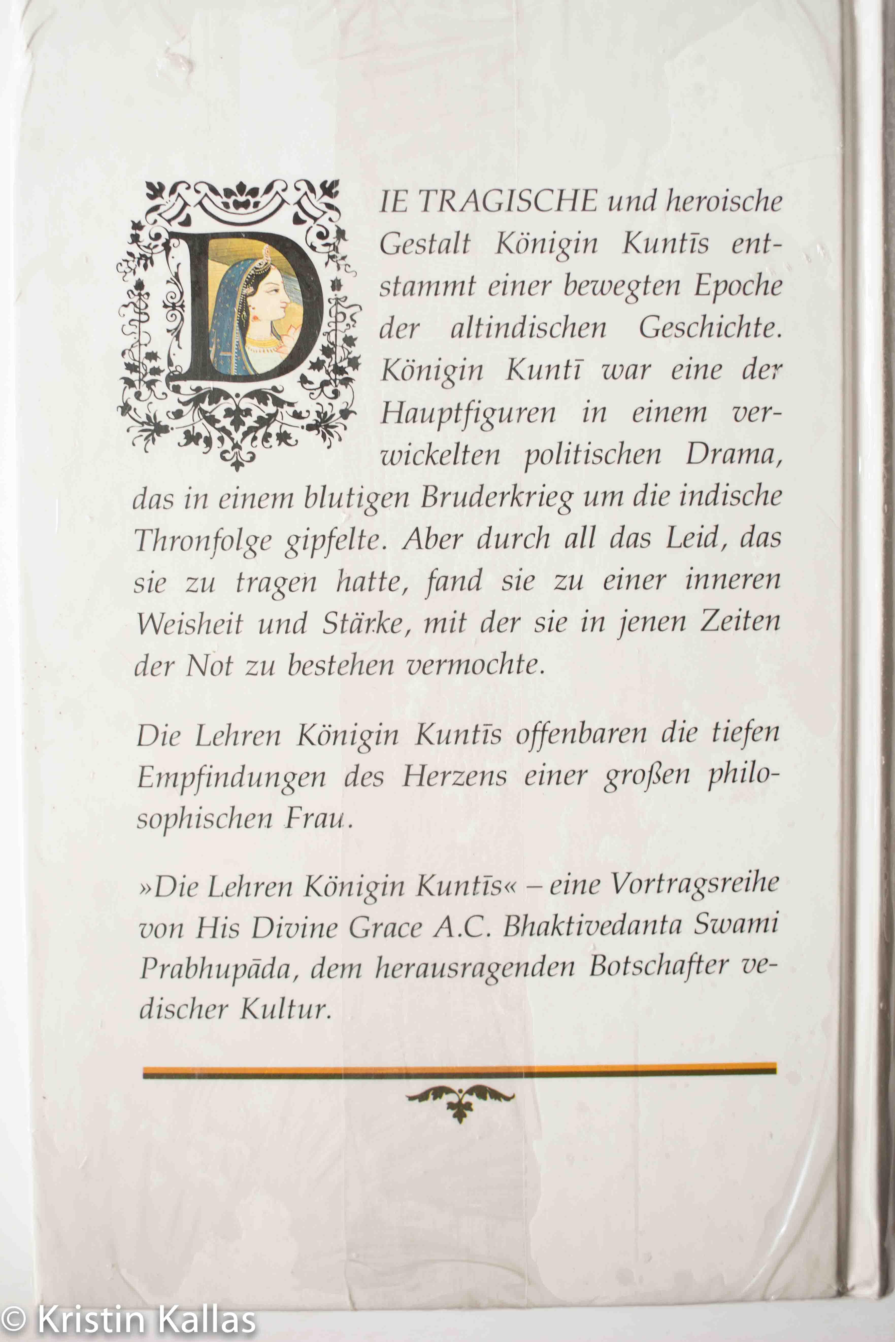 Die Lehren Königin Kuntis