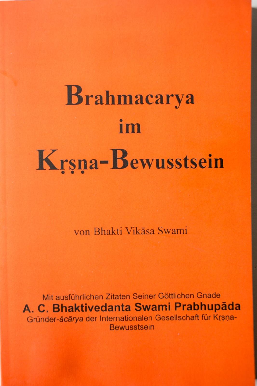 Brahmacarya im Krishna-Bewusstsein