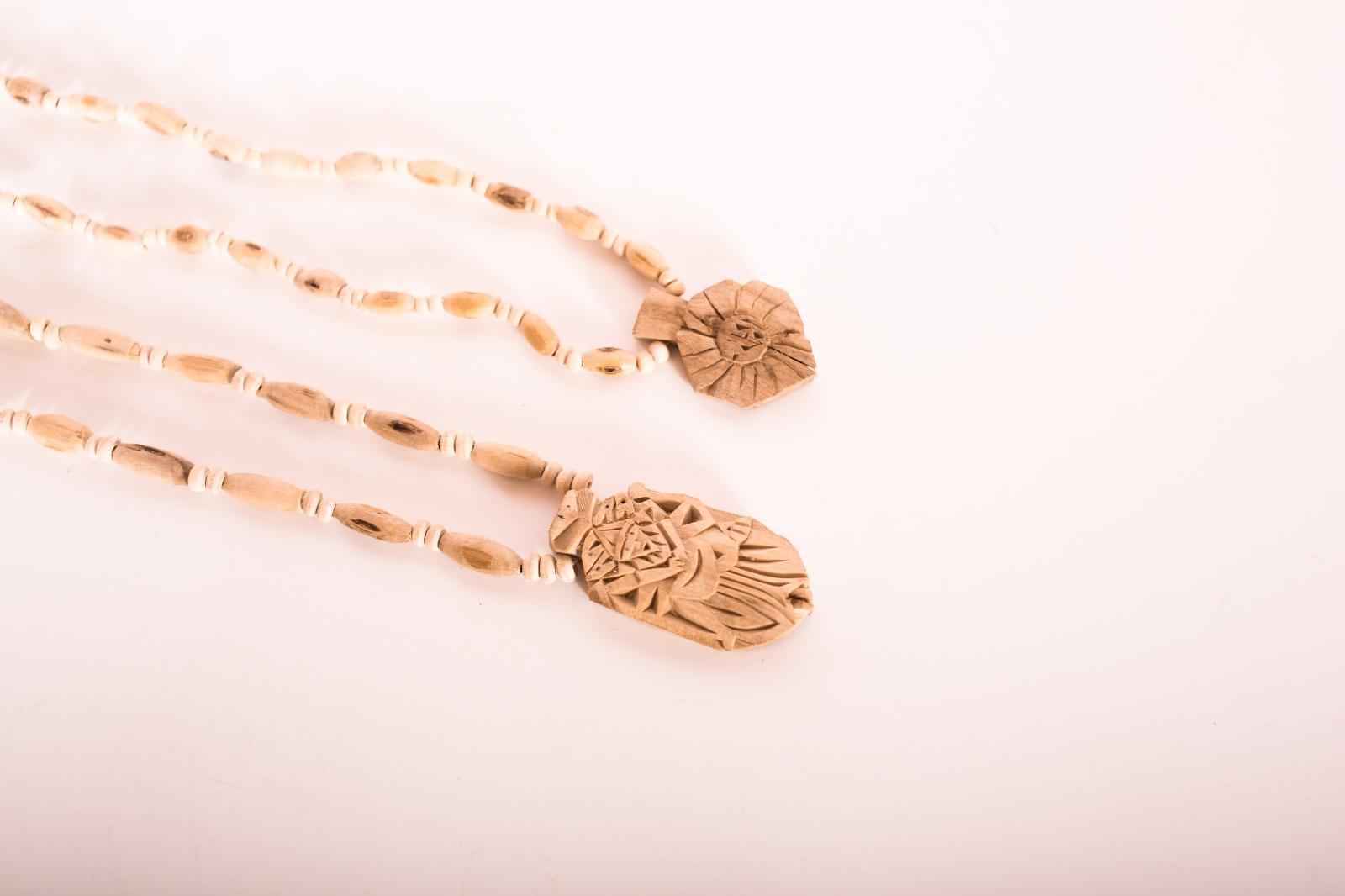 Tulasi Halskette mit Narasimha Anhänger