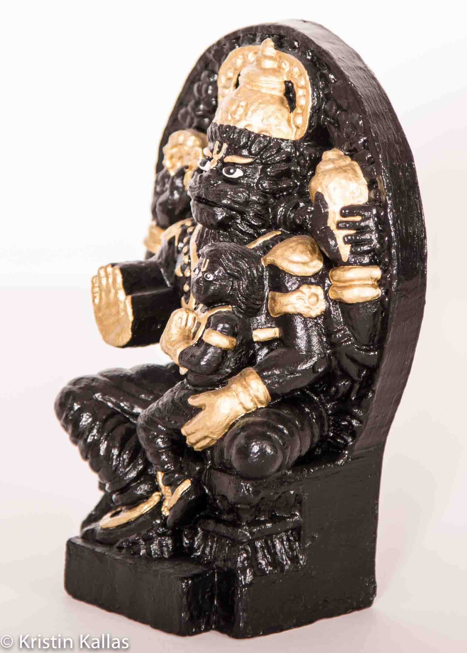Sri Sri Prahlad Narasimha Deity Groß