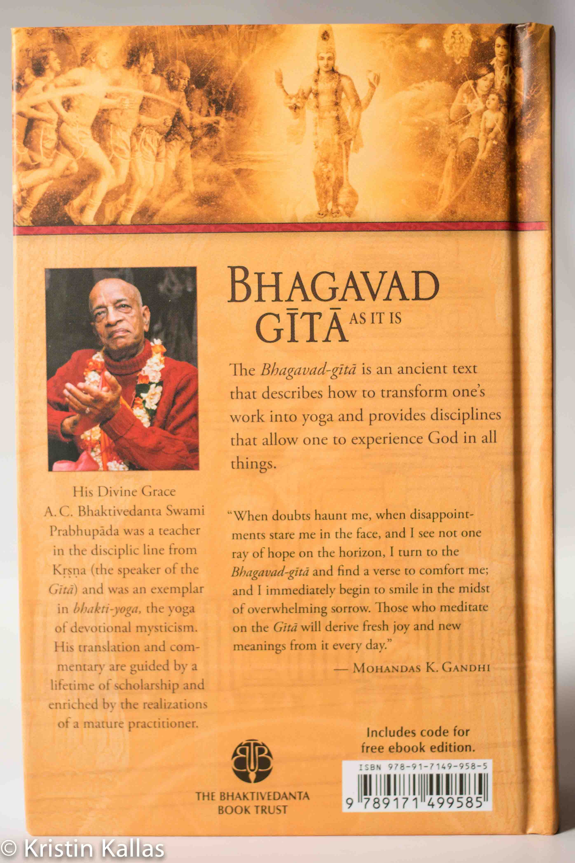 Bhagavad Gita - as it is